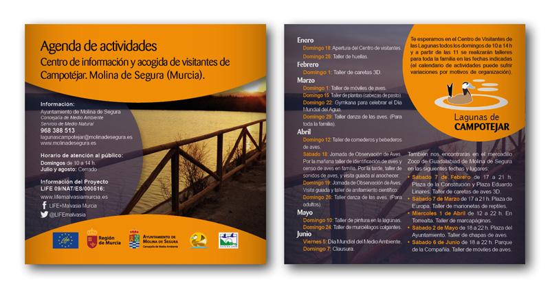 Proyecto europeo LIFE. Agenda de actividades.