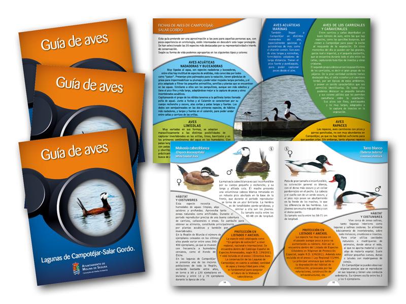 Proyecto europeo LIFE. Guía de Aves.